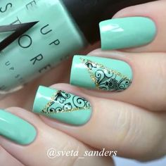 @naildecorvideos Beautiful @sveta_...Instagram photo | Websta (Webstagram)