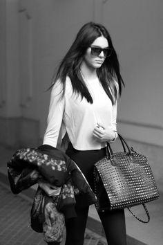 Senyahearts: Kendall Jenner - Street Style Paris (20052014)