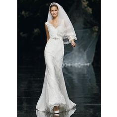 Brides.com: Pronovias - Spring 2013. Gown by Pronovias  See more Pronovias wedding dresses in our gallery.