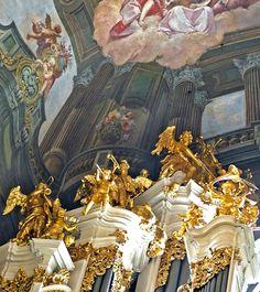 Trompe-l'œil at St. Nicholas Church, Old Town Square in Prague