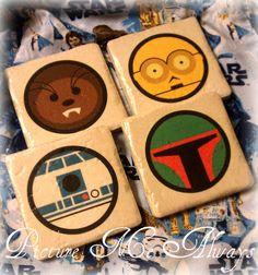Star Wars Coasters.