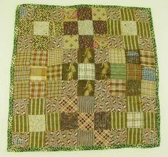 patchwork doll quilt c.1840