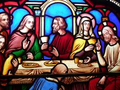 Ely Cathedral - The Lord's Last Supper - stained glass window Last Supper Art, Cathedral Church, Bible Art, Religious Art, Stained Glass Windows, Middle Ages, Bing Images, Graphic Design, Prints