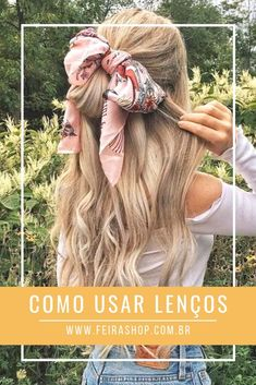 Summer Hairstyles with Headscarves: Alex is wearing her Ash Blonde Luxy Hair Ext. - Summer Hairstyles with Headscarves: Alex is wearing her Ash Blonde Luxy Hair Ext… – - Pretty Hairstyles, Braided Hairstyles, Hairstyles With Scarves, Long Hair Hairstyles, Bandana Hairstyles For Long Hair, Headband Hairstyles, Simple Hairstyles, Style Hairstyle, Trending Hairstyles