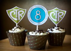 Very cute!  I will have to make these for my kids next baptism or 8 is great!