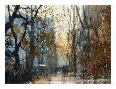 Michal Jasiewicz, Watercolor Study
