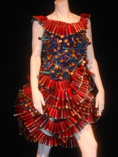 Recycled Dress in Montreal