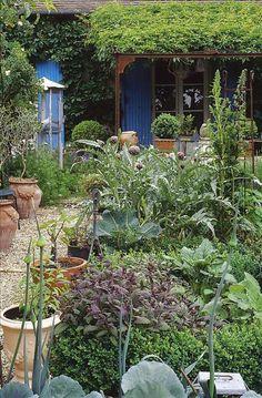 *THE GREEN GARDEN GATE*: Garden Visit_France