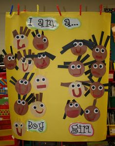 All About Me back to school activities for kindergarten All About Me Eyfs, All About Me Topic, All About Me Crafts, All About Me Art, Preschool Centers, Preschool Themes, Kindergarten Activities, Preschool Activities, Preschool Classroom