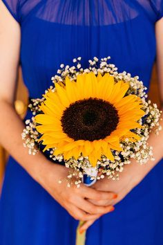 Sunflower Bouquet Bridesmaid Crafty Book Art Gallery Wedding http://www.pauljosephphotography.co.uk/