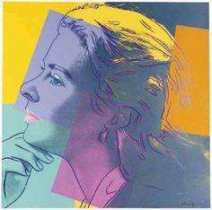 Ingrid Bergman (as Herself) - Andy Warhol