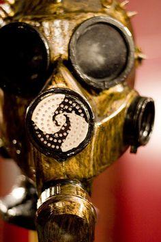 Gas mask. $160