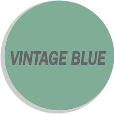 vintage blue flexa creations