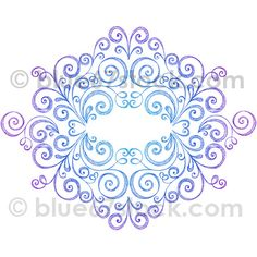 Scroll Frame Hand-Drawn Sketchy Doodle Vector Illustration by blue67design, via Flickr