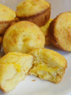 Num tnor . ( Khmer Krom jackfruit muffins.)