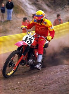 Gaylon Mosier Maico 400 1978