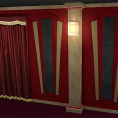 Contemporary Home Theater Column