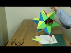 Paper Small Stellated Dodecahedron