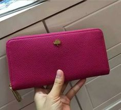 Cheap Mulberry Outlet UK-Mulberry Tree Zip Around Wallet Fuchsia Grainy Leather