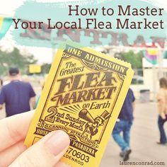 Savvy Shopper: How to Master the Flea Market