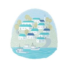 Laurie Hasting's Image of Isle - Limited Edition Silk Screen Print