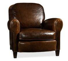 Rowling Leather Armchair | Pottery Barn