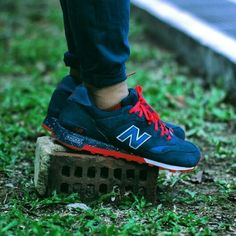 "FTYA staff pick of the day: Ronnie Fieg x New Balance 577 ""Americana"" #FTYA #kicks #newbalance"