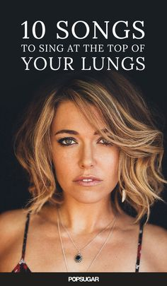 """From """"Fight Song"""" to """"Bad Blood,"""" here are 10 songs you can't help but sing at the top of your lungs. This playlist was curated by Rachel Platten; click over to get it on Spotify!"""