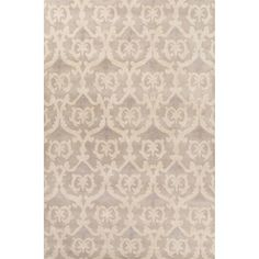 Timeless Hand-Tufted Gray/Ivory Area Rug