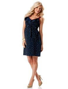 LOVE this maternity dress!!  Hoping I look that good in a few months!!