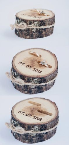 New Photo Rustic Ring Bearer Pillow, Wedding Wood Disc, Rustic Ring Box, Birch Wedding De Suggestions Are you currently searching for inexpensive wedding rings? At EFES you can find wedding rings from N Birch Wedding, Fall Wedding, Dream Wedding, Wedding Rustic, Rustic Weddings, Vintage Weddings, Wood Slices Wedding, April Wedding, Post Wedding