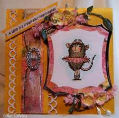 """Ballerina Wishes"" by Sue Drees on House-Mouse Designs®"