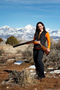 Shooting Clays in Colorado - Marla Meridith Skeet Shooting, Trap Shooting, Shooting Sports, Hunting Toys, Hunting Girls, Clay Pigeon Shooting, Gun Vault, Sporting Clays, Self Defense Women