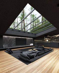 Home Room Design, Dream Home Design, Modern House Design, Home Interior Design, Interior Architecture, Amazing Architecture, Modern Architecture House, Residential Architecture, Modern Interior