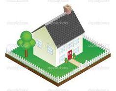 Afbeeldingsresultaat voor huis isometrisch