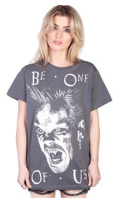 Be One Of Us T-shirt #disturbiaclothing disturbia vampire alien goth occult grunge alternative lost boys