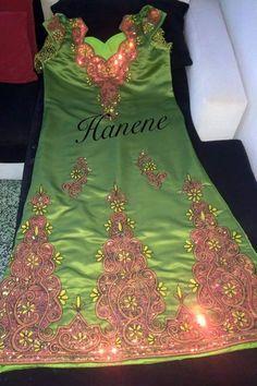 tenue algerienne traditionnelle fetla fil d'or فتلة | Mode ...