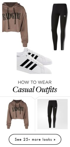 """Casual?"" by martinator4lifee on Polyvore featuring adidas"