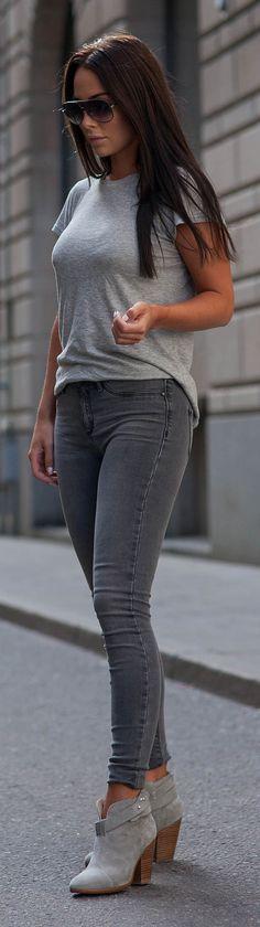 Casual Grey / Fashion By Johanna Olsson