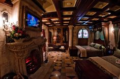 The Suite in Cinderella's Castle at Disney World