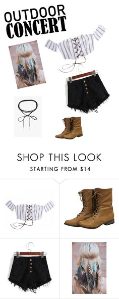"""Happy Camper"" by fashionfox3 ❤ liked on Polyvore featuring Azalea, 60secondstyle and outdoorconcerts"