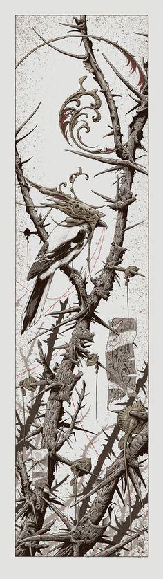 Aaron Horkey's Sigur Ros Poster (Artist Copies Onsale Info) Omg Posters, Sigur Ros, Art Nouveau, Concert Posters, Albedo, Line Art, Fantasy Art, Design Art, Cool Art