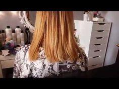 Восстановление волос кератином ДО и ПОСЛЕ процедуры #HonmaTokyo