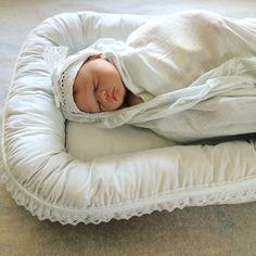 Leonora.fi: Babynest med ullstoppning beställning