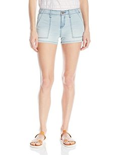 Sanctuary Clothing Womens Peace Trooper Shorty Misty Wash 28 >>> Be sure to check out this awesome product.(This is an Amazon affiliate link and I receive a commission for the sales)