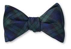 Black Watch Tartan Bow Tie - B473