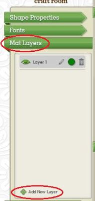 Cricut CraftRoom Blog: Copying objects to a new layer (for CCR builds prior to 167)