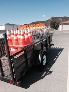 New traffic control trailer