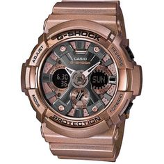 Rose Gold G-Shock Rose Gold G-Shock Accessories Watches Casio G-shock, Casio Watch, Gold G Shock, Rolex Watches, Watches For Men, Car Led Lights, Rose Gold Watches, Digital Watch, Chronograph