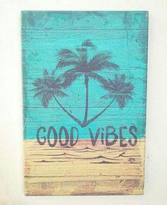 Lunes de #verano !! Canvas 40x60cm. Good Vibes ☀🏄😁 Consultas inbox . . #verano #canvas #deco #goodvibes #summer #summertime #playa #sun